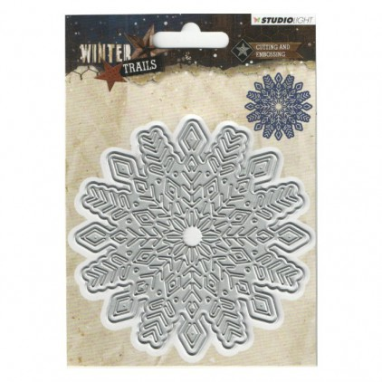 Die cut -Studio Light -Winter Trails - STENCILLWT103