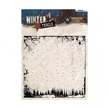 Stemple / pieczątki - Studio Light - 14x14 - Winter Trails - STAMWT304