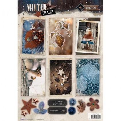 Die Cut Sheet Photos - Studio Light - Winter Trails - EASYWT625