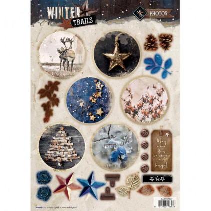 Die Cut Sheet Photos - Studio Light - Winter Trails - EASYWT627