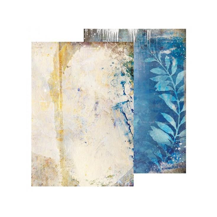 Scrapbooking paper A4 - Studio Light - Winter Trails - BASISWT266