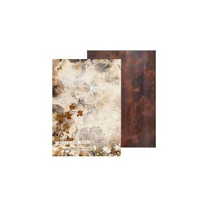 Papier do tworzenia kartek i scrapbookingu A4 - Studio Light - Winter Trails - BASISWT267