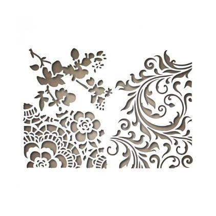 Wykrojniki - Sizzix - Thinlits - 661185 - Mixed media 2