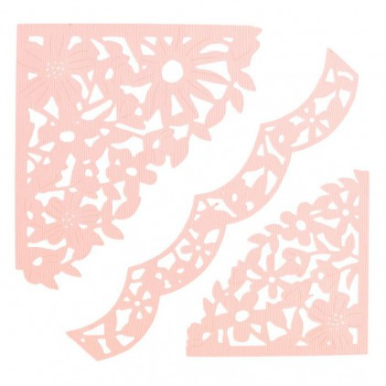 Wykrojniki - Sizzix - Thinlits - 662861 - Decorative corners