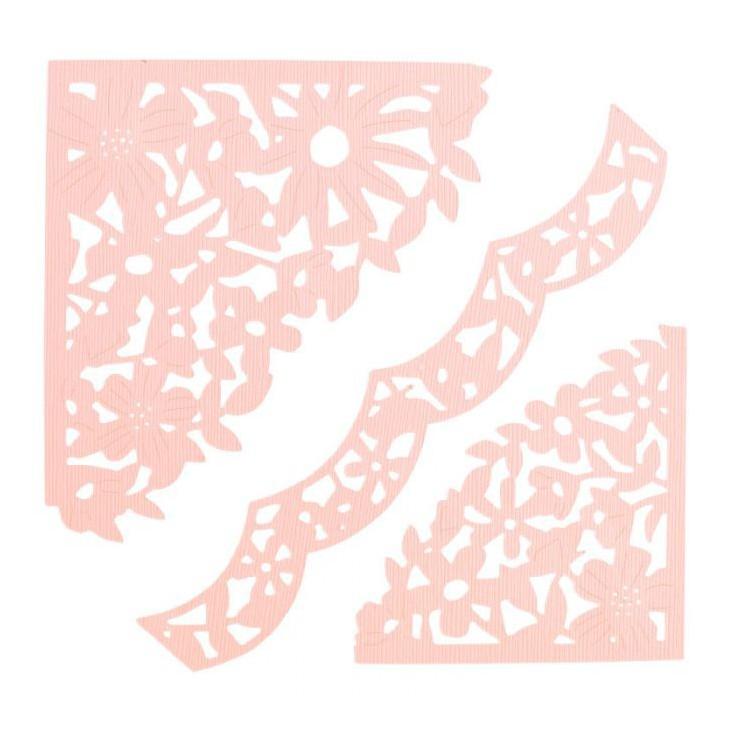 Die cut - Sizzix - Thinlits - 662861 - Decorative corners