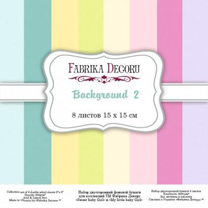 Mały bloczek papierów do tworzenia kartek i scrapbookingu - Fabrika Decoru - Background 2