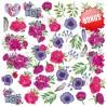 Set of scrapbooking papers - Fabrika Decoru - Mind Flowers