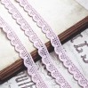 Cotton lace - pink - 1 meter