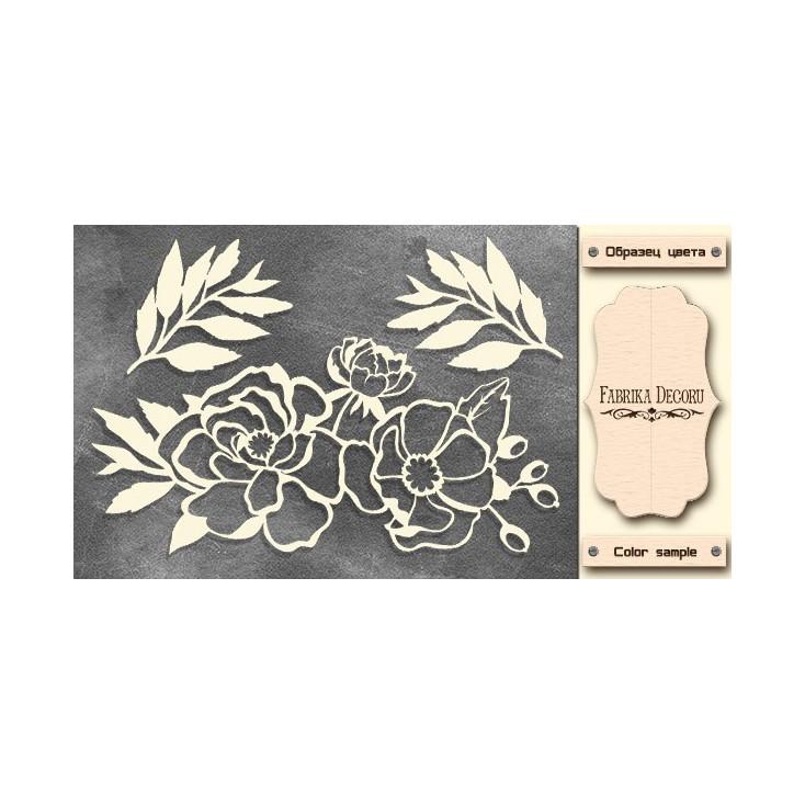 Flowers - Chipboard - Fabrika Decoru FDCH 302