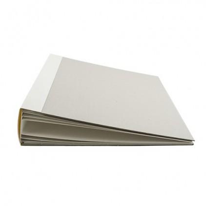 Baza albumowa kwadratowa- biała 6 kart- 20x20x7 cm - Fabrika Decoru
