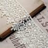 Guipure lace - wide - vanilla - 1 meter