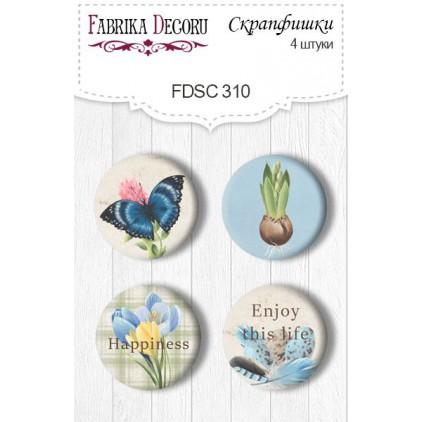 Ozdoby samoprzylepne, buttony - Fabrika Decoru - 310 - Botany Spring 4