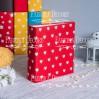Baza albumowa kwadratowa- materiał -Hearts on red- 20x20x7 cm - Fabrika Decoru