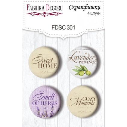 Ozdoby samoprzylepne, buttony - Fabrika Decoru - 301 - Lavender Provence 3