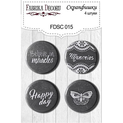 Selfadhesive buttons/badge - Fabrika Decoru - 015