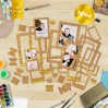 Set of frames - Fabrika Decoru - Craft with gold foiled - 39 pcs