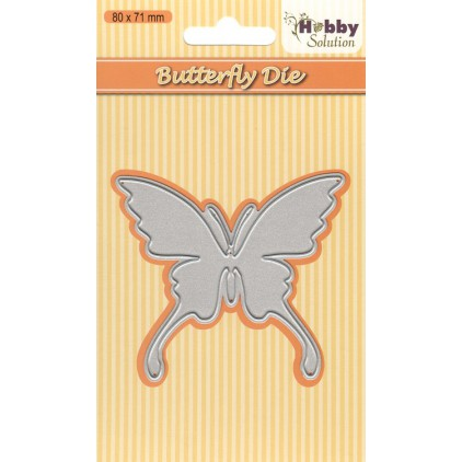 Die cut -  Nellies Choice Hobby Solutions - HSDJ004 - Butterfly