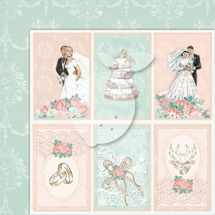 Double sided scrapbooking paper - Love of my life 05