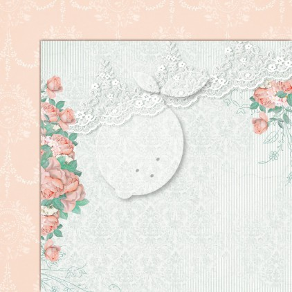 Double sided scrapbooking paper - Love of my life 07