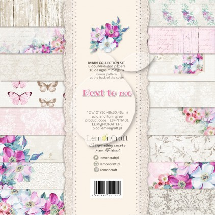 Set of scrapbooking papers - Next to me