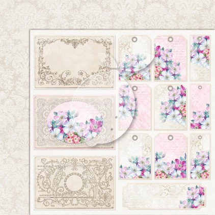 Double sided scrapbooking paper - Next to me 06