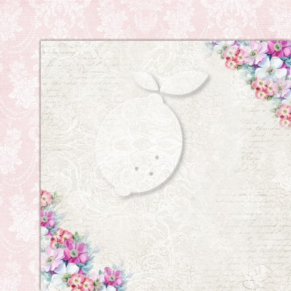 Double sided scrapbooking paper - Next to me 04