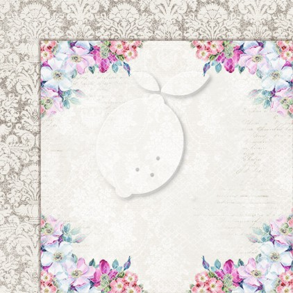 Double sided scrapbooking paper - Next to me 01