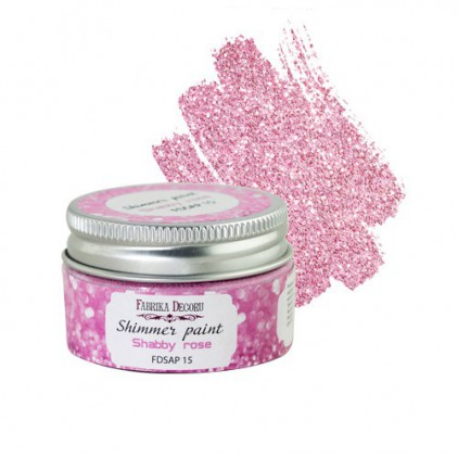 Shimmer paint - Fabrika Decoru - shabby rose - 30ml