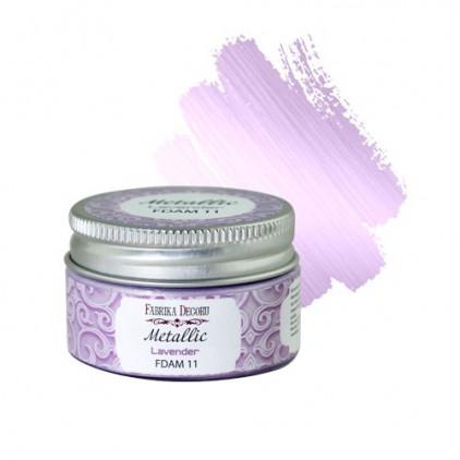 Metallic paint 11- Fabrika Decoru - lavender - 30ml