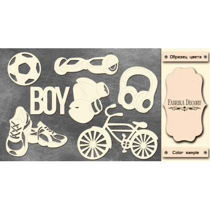 Chipboard - Fabrika Decoru F238  - Cool Teens 1