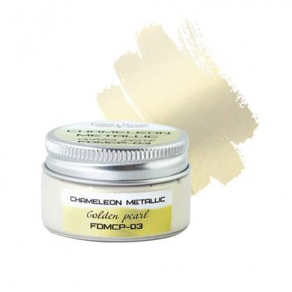 Camaleon paint 03 - Fabrika Decoru - golden pearl - 30ml