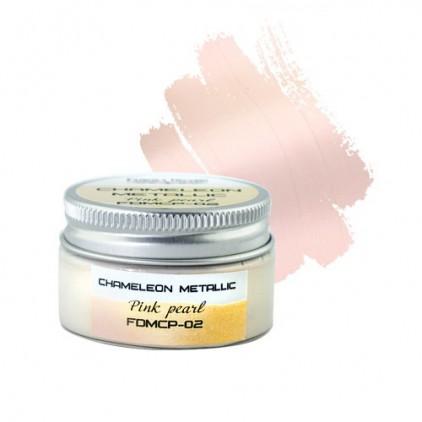 Camaleon paint 02 - Fabrika Decoru - pink pearl- 30ml