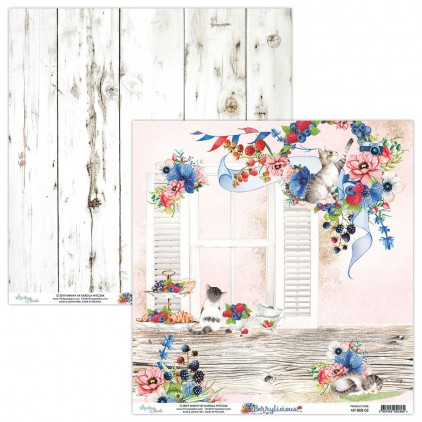 Scrapbooking paper - Mintay Papers - Berrylicious 02