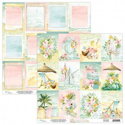 Papier do scrapbookingu - Mintay Papers - Paradise 06