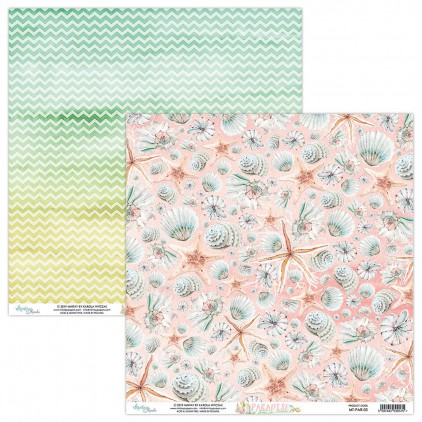 Scrapbooking paper - Mintay Papers - Paradise 05