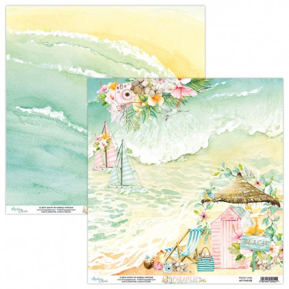 Scrapbooking paper - Mintay Papers - Paradise 03