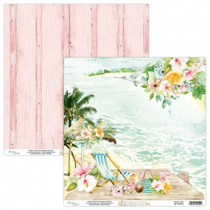 Papier do scrapbookingu - Mintay Papers - Paradise 02
