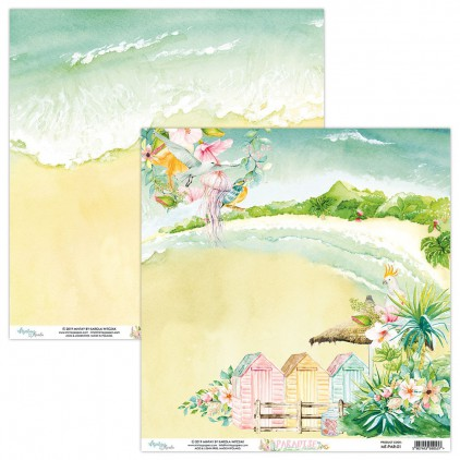 Papier do scrapbookingu - Mintay Papers - Paradise 01