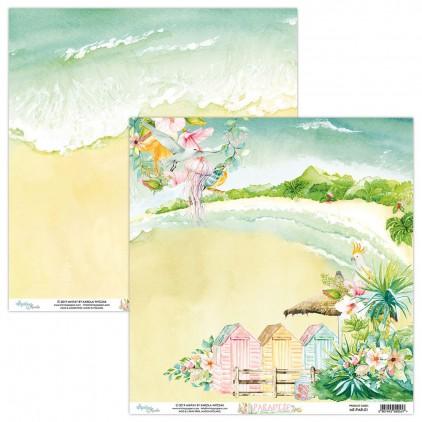 Papier do scrapbookingu - Mintay Papers - Paradise 01