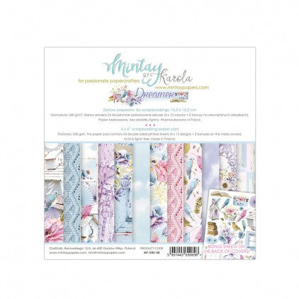 Scrapbooking paper pad - Mintay Papers - Dreamer