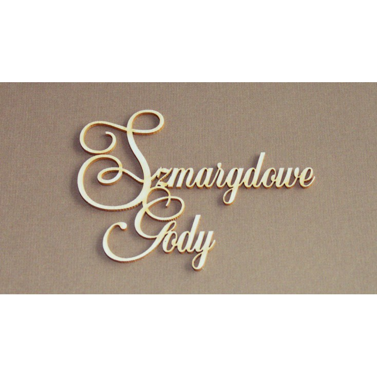 Chipboard - Anemone - Szmaragdowe Gody (55 rocznica ślubu)