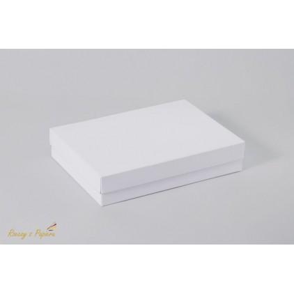 Pudełko na kartkę C6, pełne, wysokie 12,4x17,2x3,5 białe - Rzeczy z Papieru
