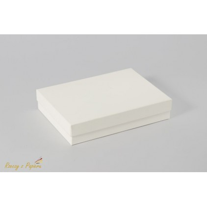 A box for a card c^ full, low - 12,4x17,2x3,5cream - Rzeczy z Papieru