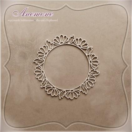 Chipboard - Anemone - Alleluja wreath 2