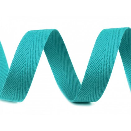 Cotton trim 4708- width 14 mm - 1 meter - turquoise