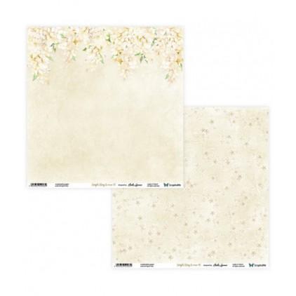 Papier do tworzenia kartek i scrapbookingu - ScrapAndMe - Simple story 2- beige - 05/06