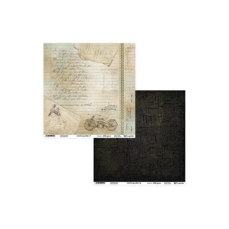 Set of scrapbooking papers - ScrapAndMe - Something.else 07/08
