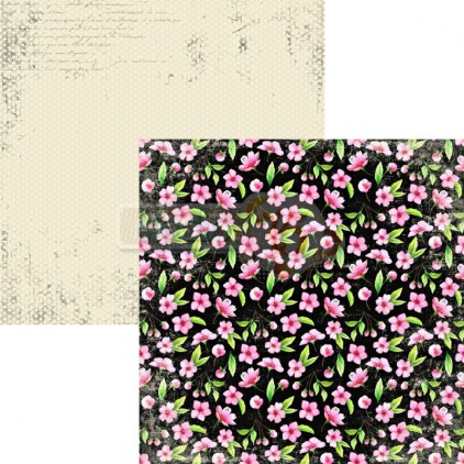 Scrapbooking paper - Studio 75 - Cherry Blossom 01