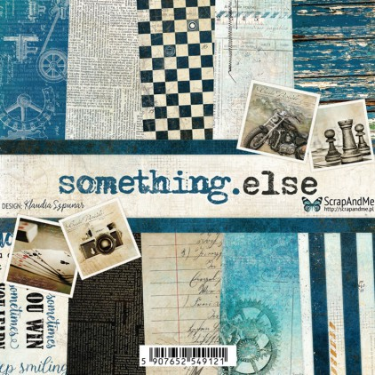 Scrapbooking paper pad 15,25x15,25 - ScrapAndMe -Something.else