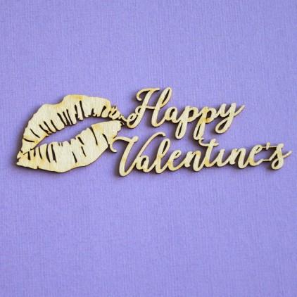Cardboard element - Crafty Moly - Happy Valentine's - G5